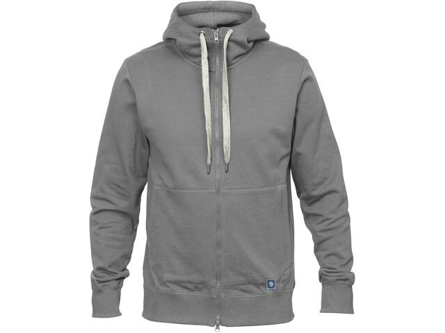 Fjällräven Greenland Veste à capuche zippée Homme, grey